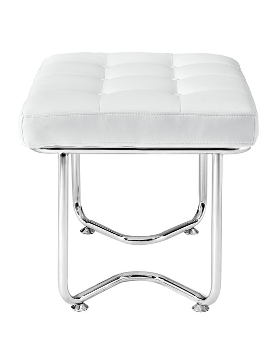 White Leather Arctic Lounge Set 4