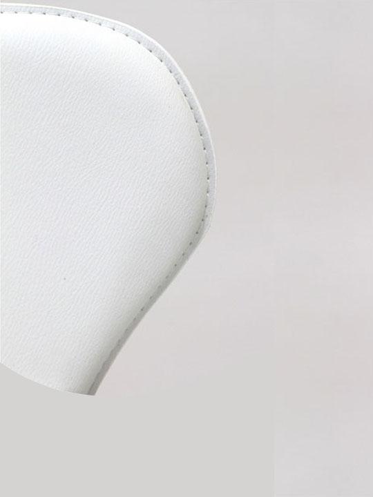 White Puzzle Barstool 6