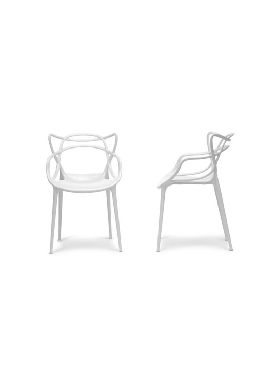 White Spark Chair 2