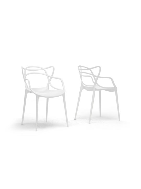 White Spark Chair