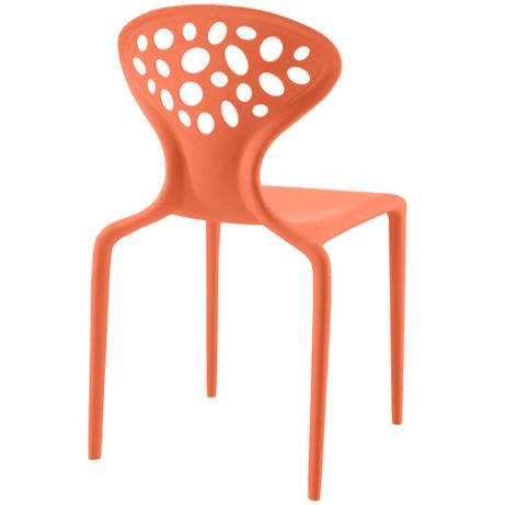 orange plastic stone chair 461x461