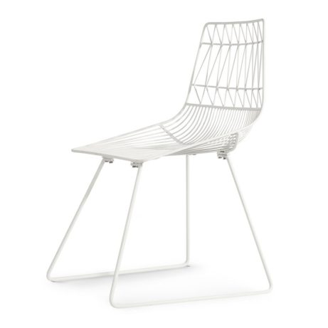 white wire Symmetric Chair 461x461