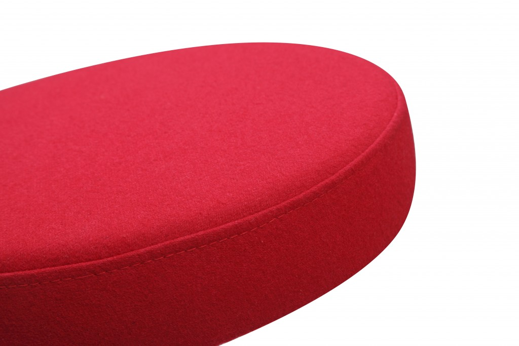 60s Stool Red 3