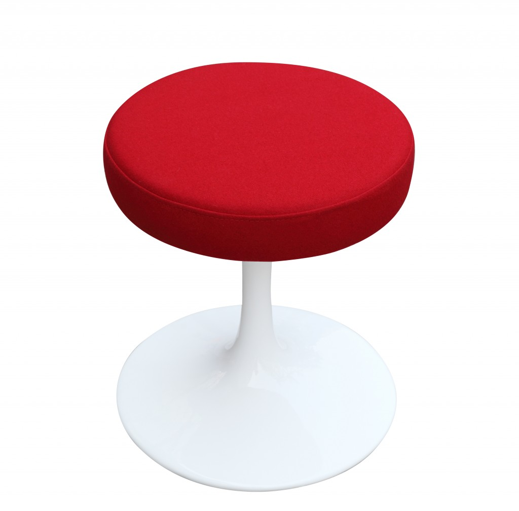 60s Stool Red 4