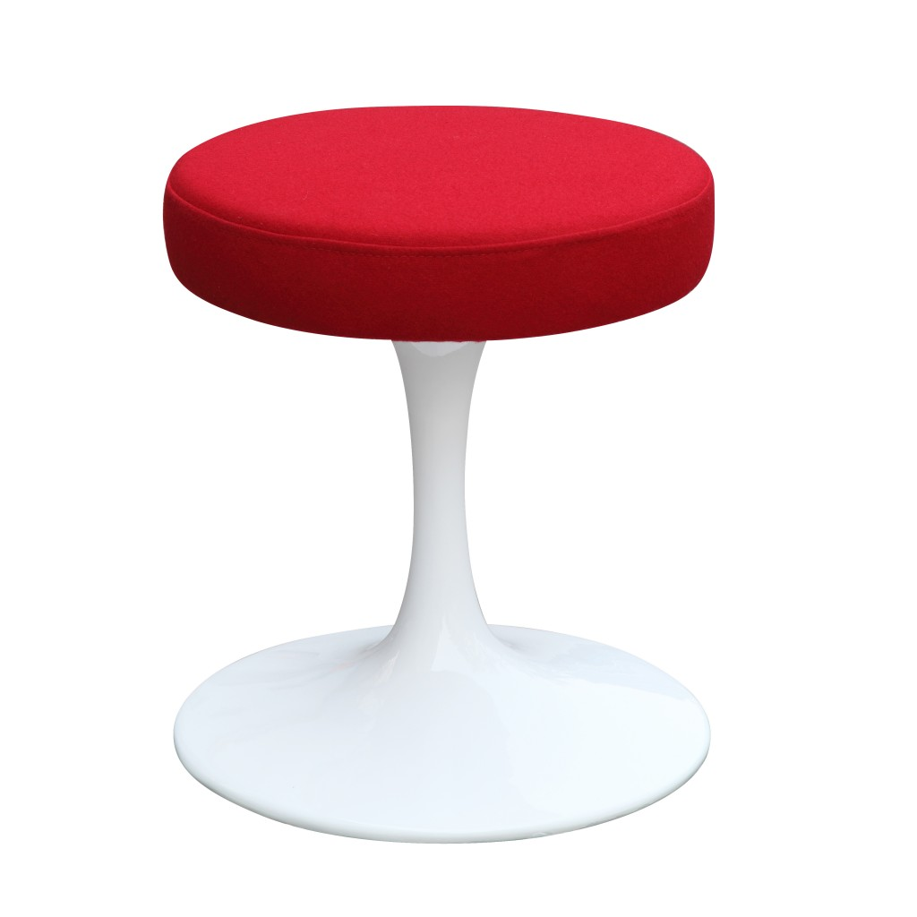 60s Stool Red 5