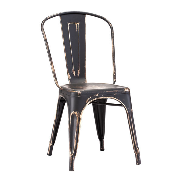 Antique Black Cooper Chair