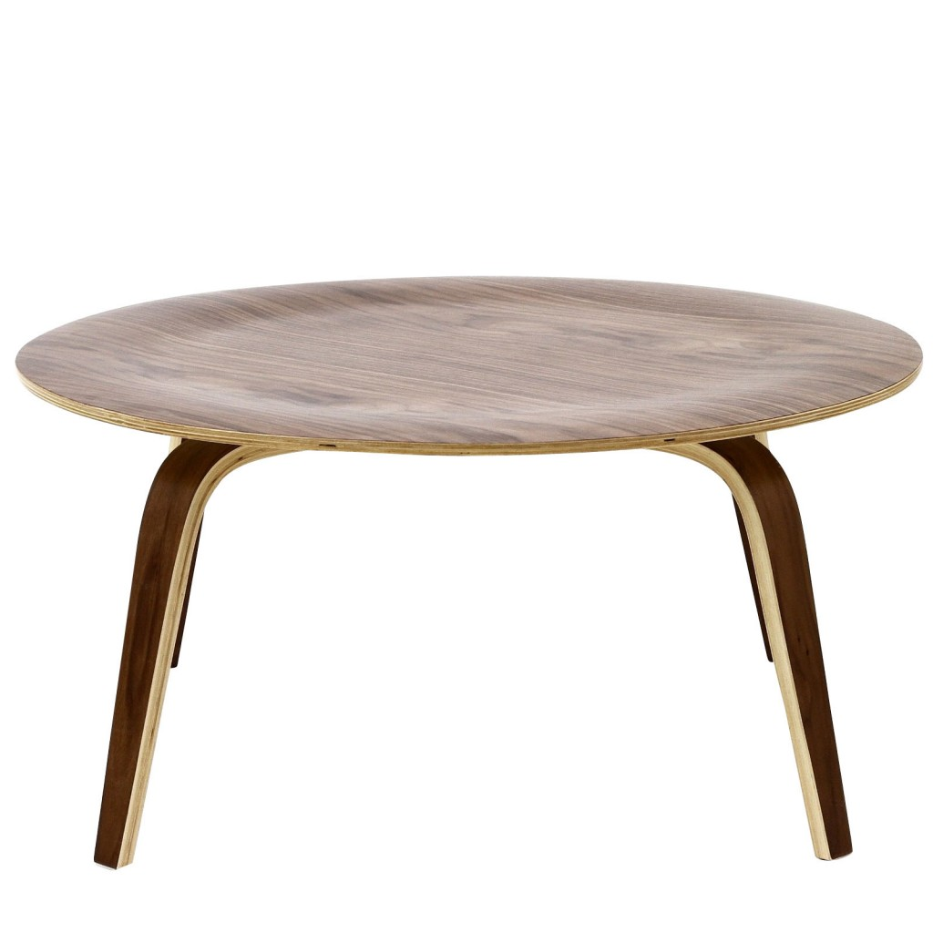 Bamboo Coffee Table Walnut Wood 2