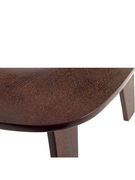 Bamboo Lounge Chair Wenge Wood 5