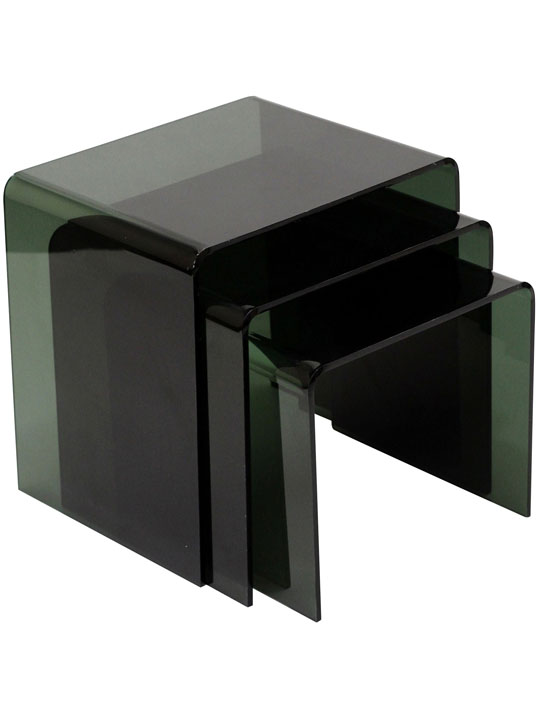 Black 3 Ice Accent Table