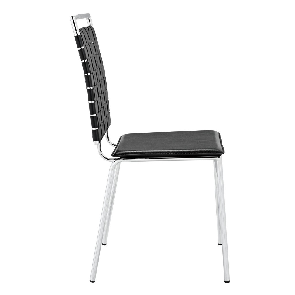 Black Area Chair 2