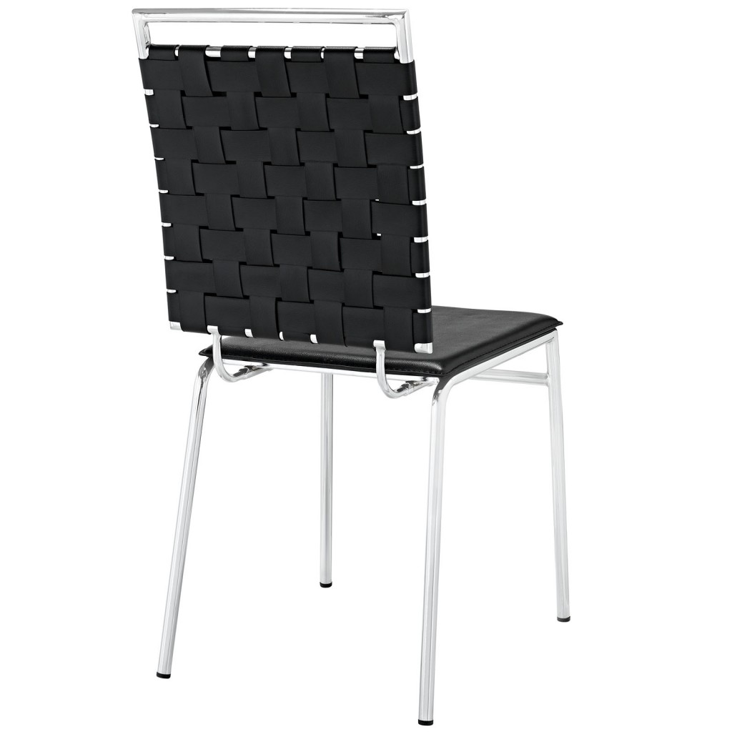 Black Area Chair 3