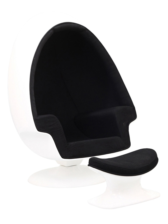 Black Droplet Lounge Chair