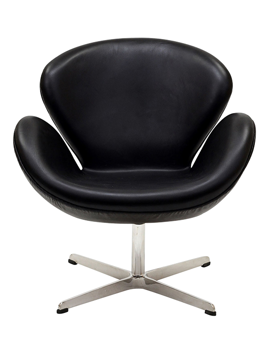 Black HUG Leather Chair1