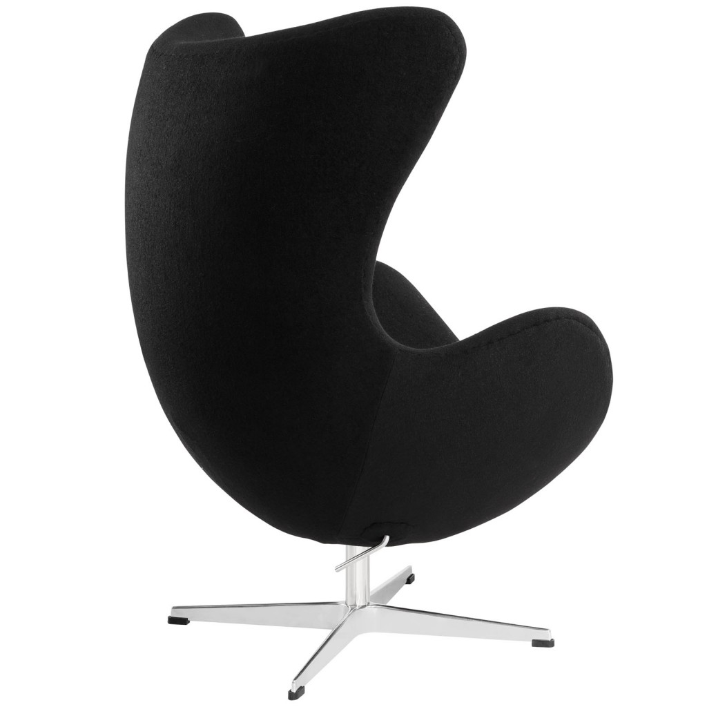 Black Magnum Wool Chair 2