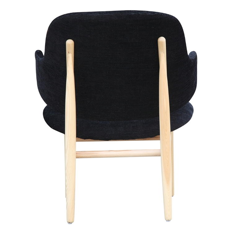 Black Natural Wood Balman Chair 4