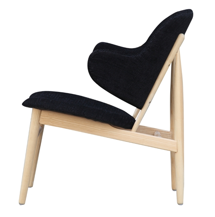 Black Natural Wood Balman Chair 5