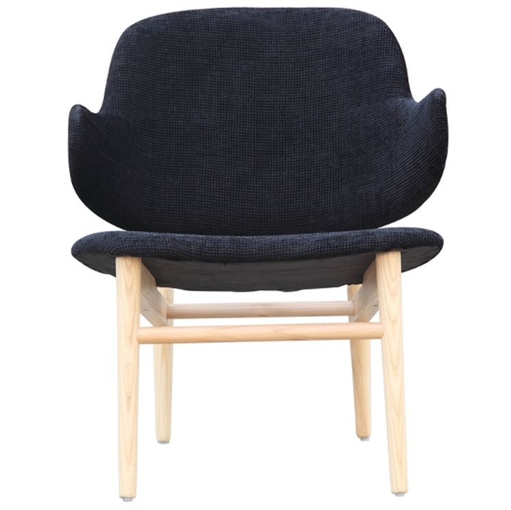 Black Natural Wood Balman Chair