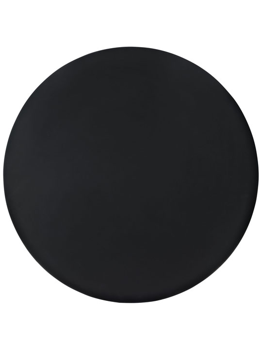 Black Ombre Wood Circle Dining Table 3