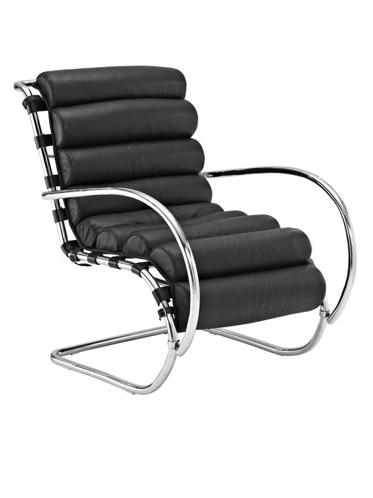 Black Plush Armchair1