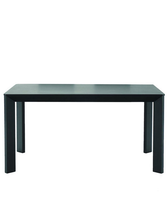 Black Wood Dining Table1
