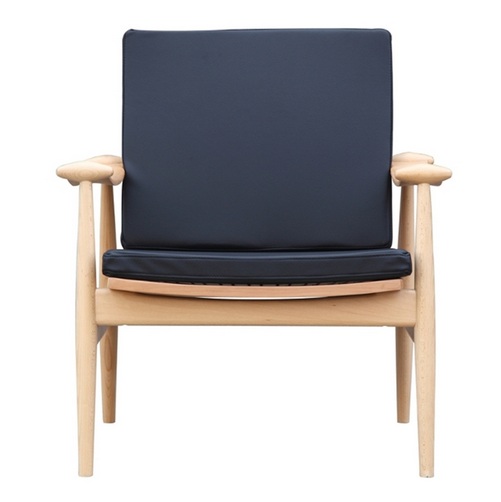 Black Zealand Lounge Chair 1