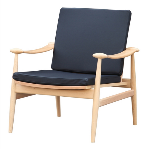 Black Zealand Lounge Chair 2
