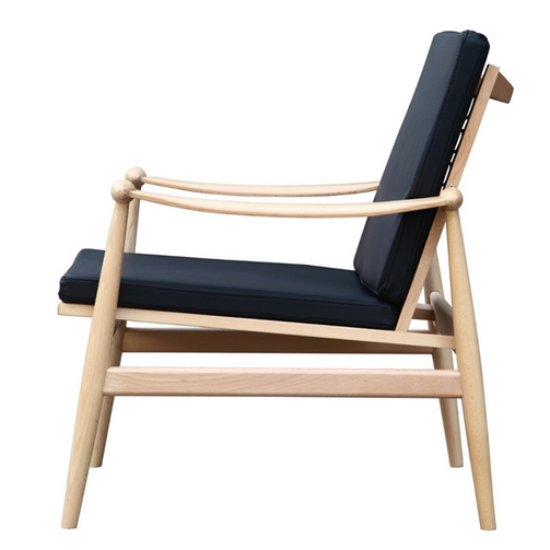 Black Zealand Lounge Chair 3