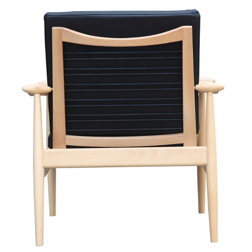 Black Zealand Lounge Chair 4
