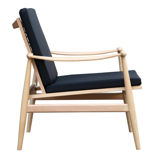 Black Zealand Lounge Chair 5