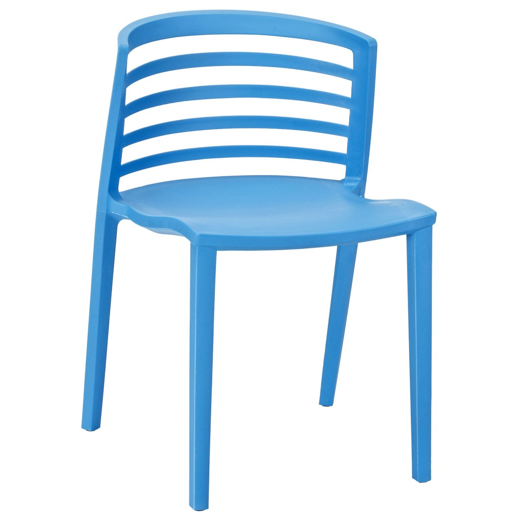 Blue Skeleton Chair 1