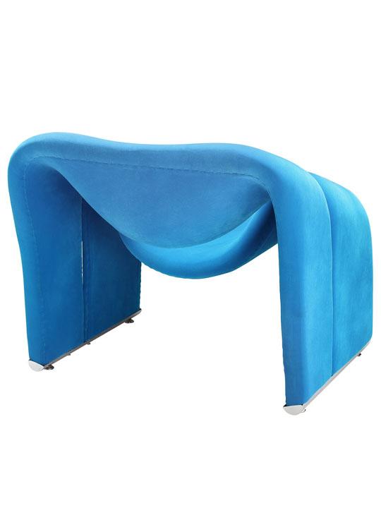 Blue Velocity Armchair 3