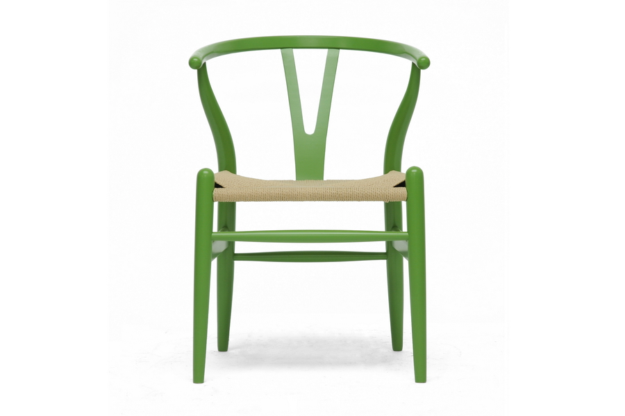 Bright Green Hemp Chair 2