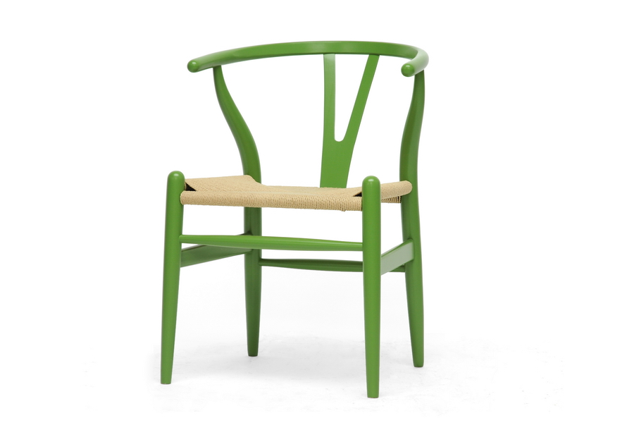 Bright Green Hemp Chair