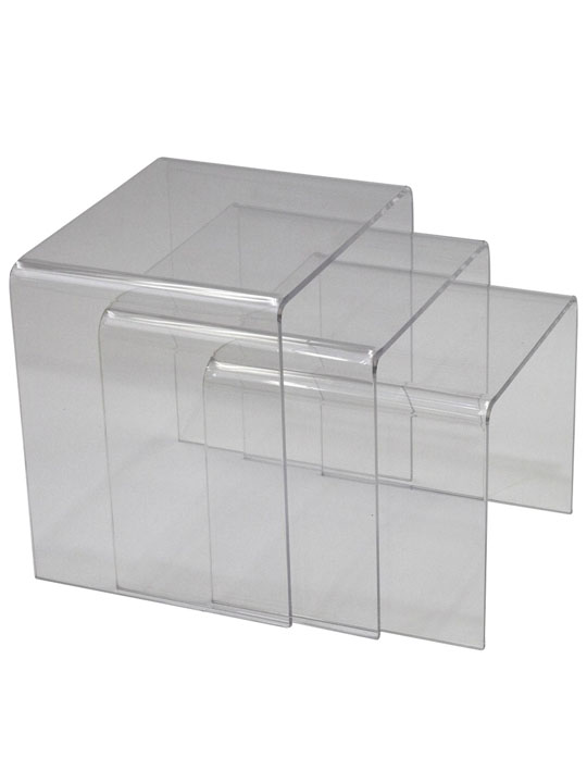 Clear 3 Ice Accent Table 3