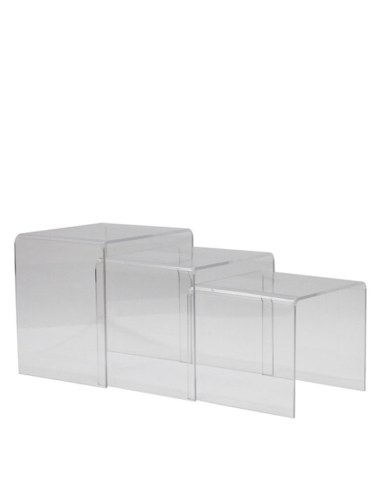 Clear 3 Ice Accent Table 6