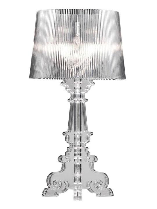 Beau Clear Acrylic Lamp