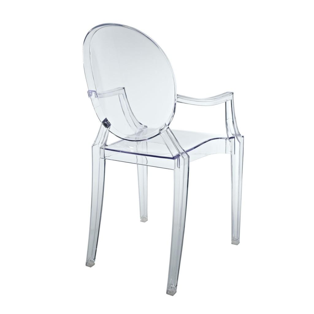 Clear Kids Throne Chair 3