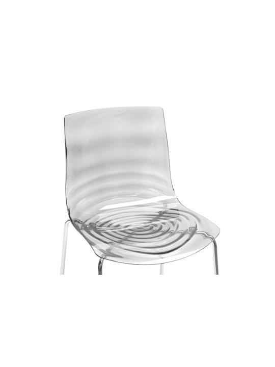Clear Lucite Tide Chair 3