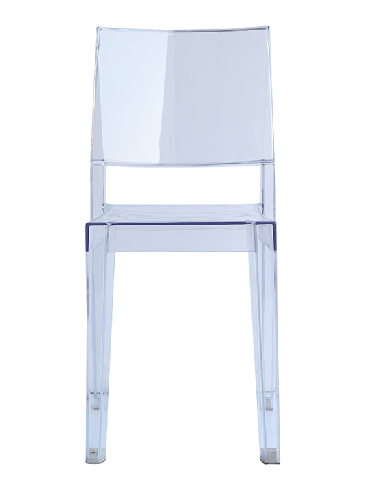 Clear Square Chair1