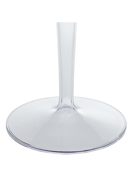 Clear Tulip Side Table 2
