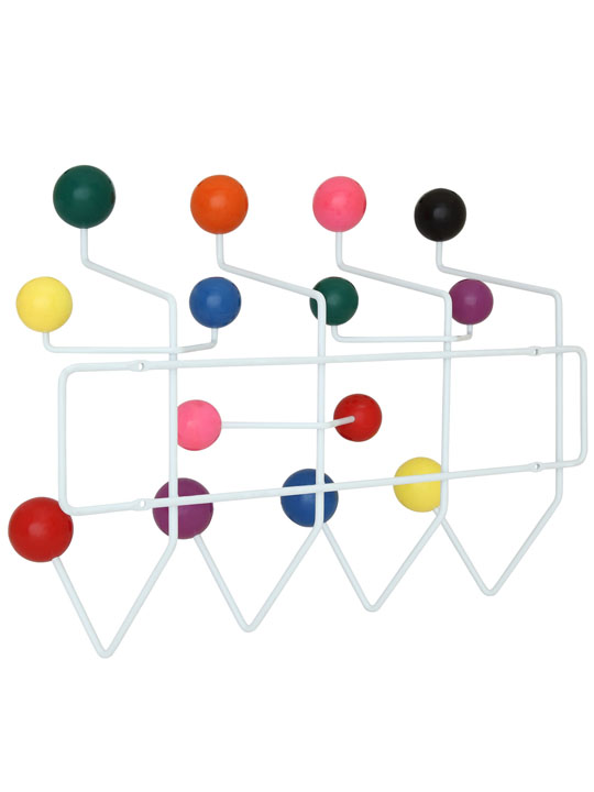 Colored Spot Coat Rack 2