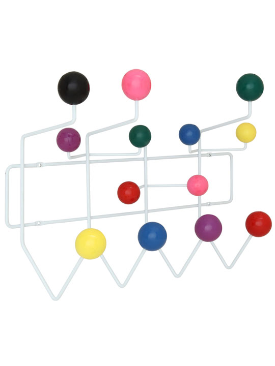 Colored Spot Coat Rack