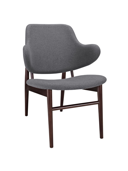 Dark Gray Balman Armchair