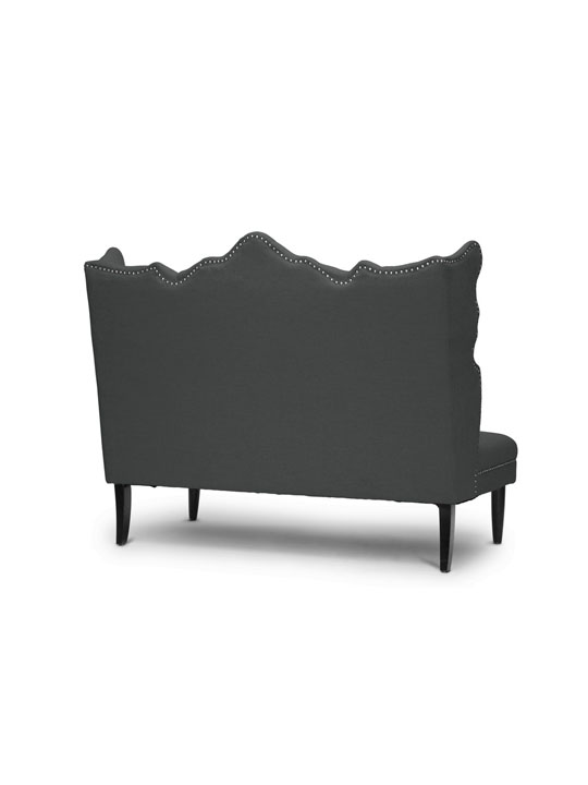Dark Gray Dutches Bench 3