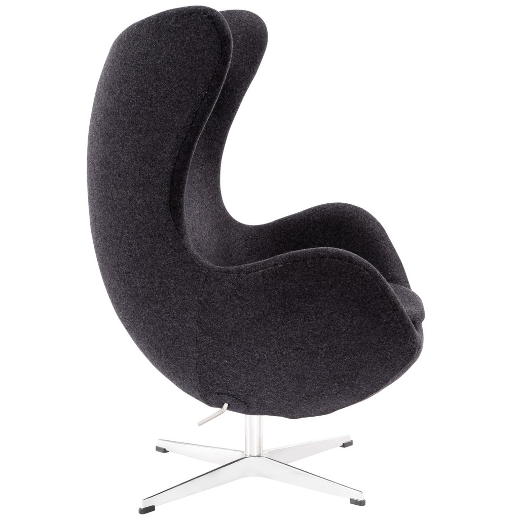 Dark Grey Magnum Wool Chair 1
