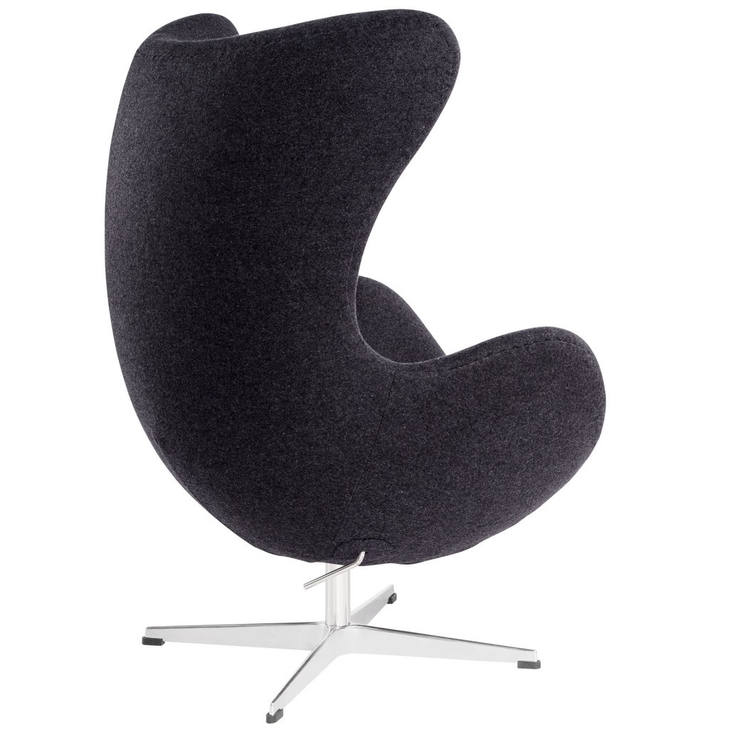 Dark Grey Magnum Wool Chair 2