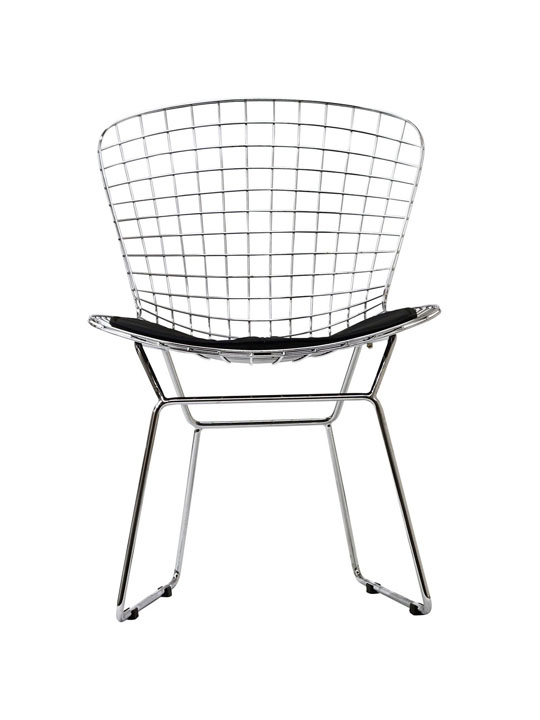 Dyson Wire Chair Black Cushion 2