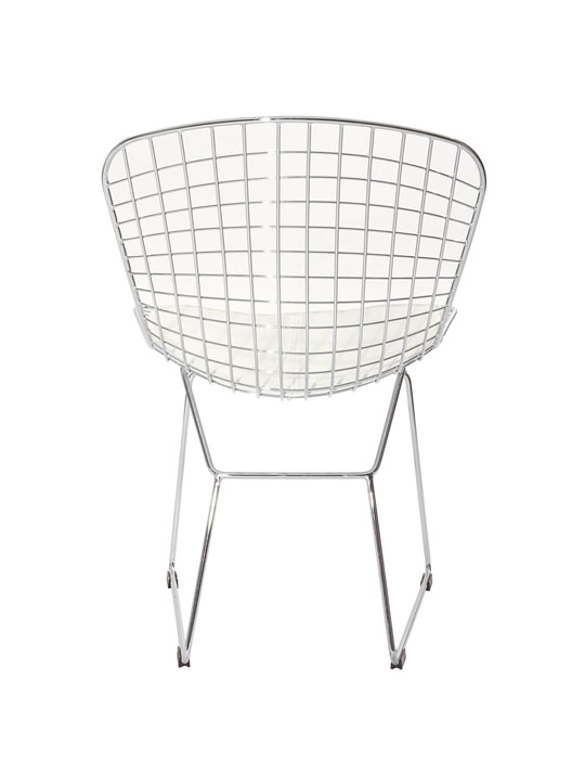 Dyson Wire Chair White Cushion 4