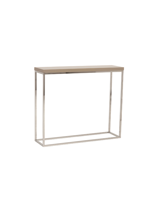 Float Console Table Tan 2