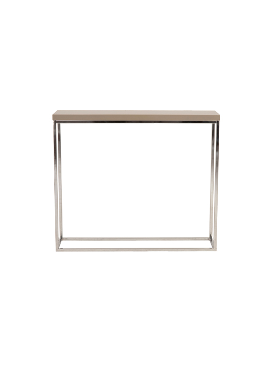 Float Console Table Tan